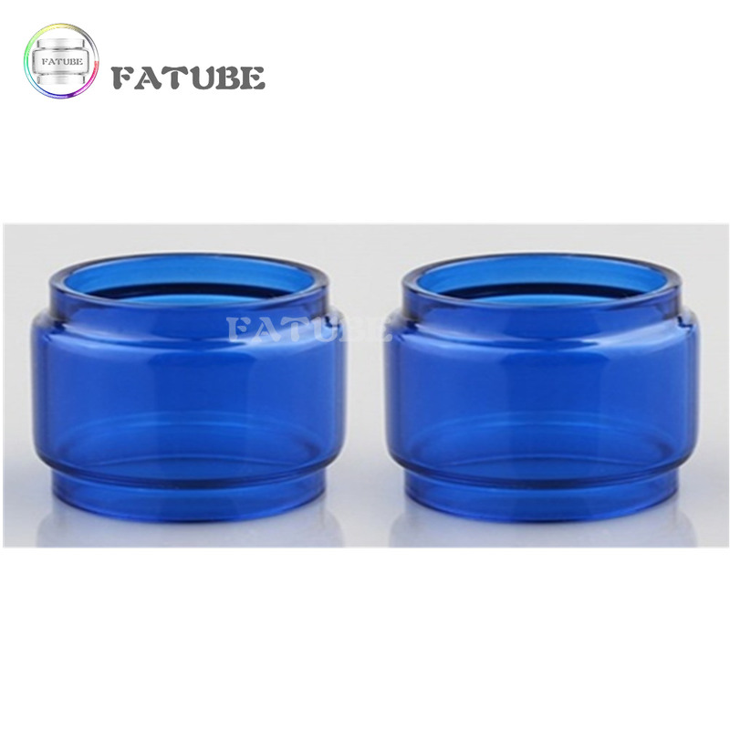 2pcs FATUBE Rainbow colour Bubble Glass TUBE for ZEUS X MESH/Zeus Dual RTA 4ml/ZEUS X 4.5ml/Zeus Sub Ohm Tank 5ml 5