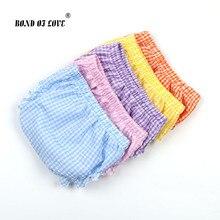 Baby Boy Girls Shorts Newborn Bloomers Baby Panties Checkered Pattern Infant PP Shorts Summer Beach Harem Shorts Kids Bloomer