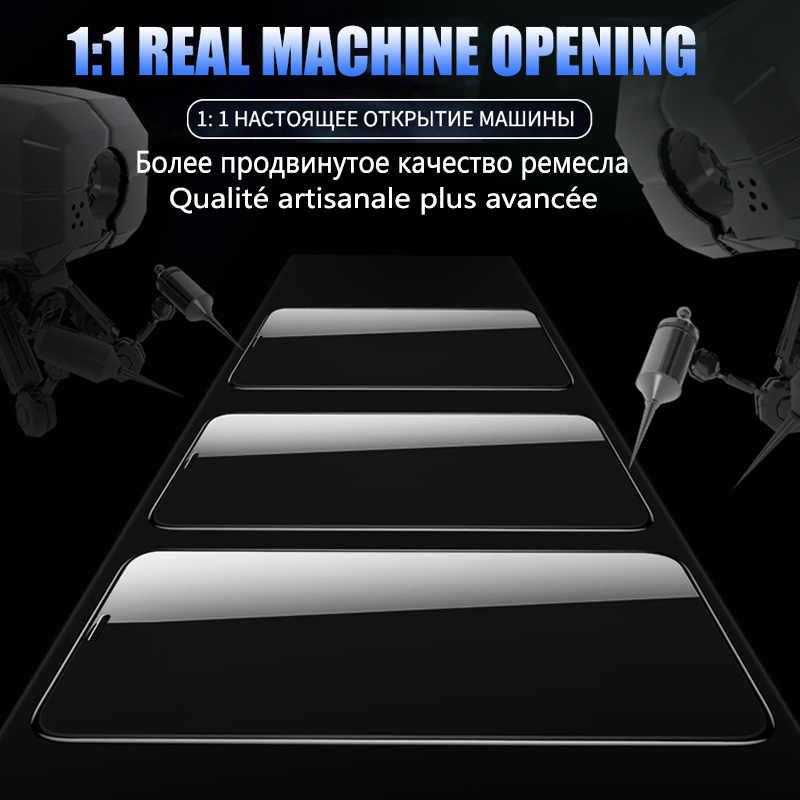 99D Penutup Penuh Lem Tempered Glass untuk Xiaomi Mi 9 9T A3 Merah Mi Note 8 7 Pro 7A Layar film Pelindung untuk Catatan K20 5 6 PRO Kaca