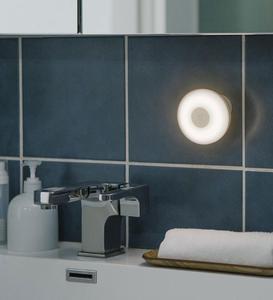 Image 5 - Xiaomi Mijia Led indüksiyon gece lambası 2 lambası ayarlanabilir parlaklık kızılötesi akıllı insan vücudu sensörü manyetik tabanı ile