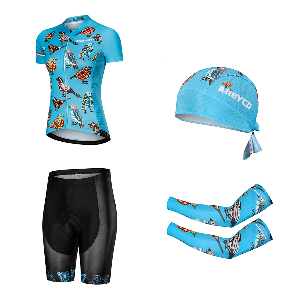 Mieyco Pro Women Cycling Set MTB Bike Clothing Women Racing Bicycle Clothes Ropa Ciclismo Cycling Wear Outfit Cycling Jersey Set