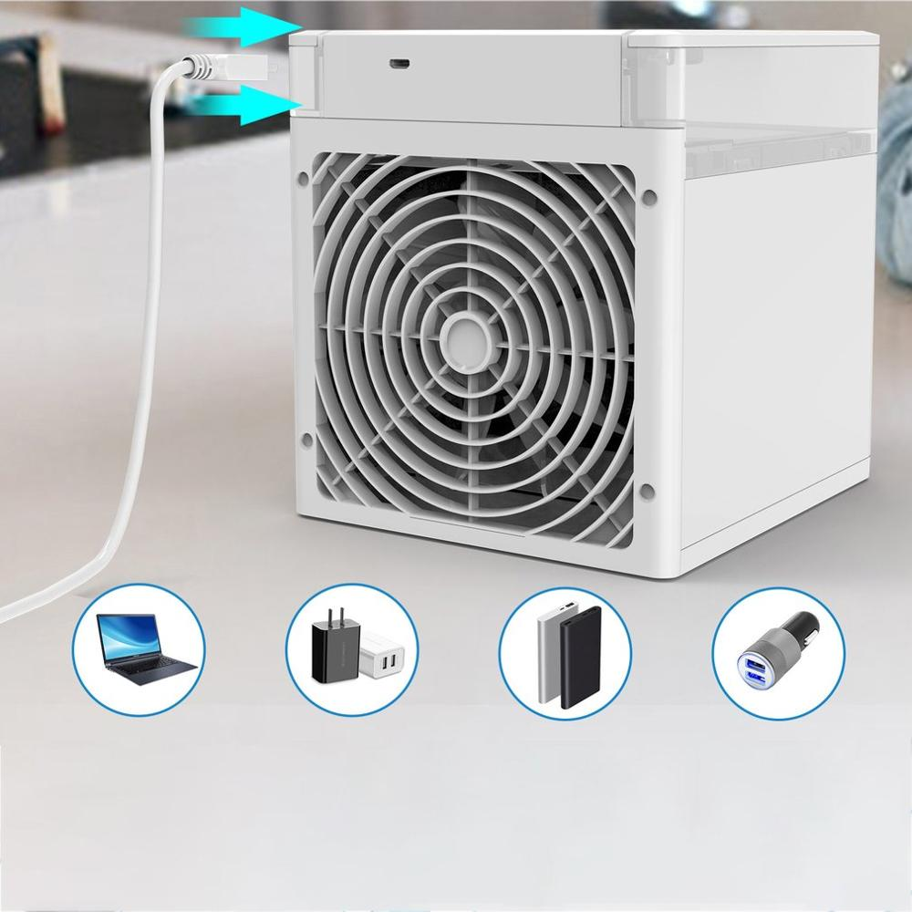 Air-Cooler Portable Mini Multi-Function Office Household