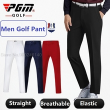 Golf-Clothing Long-Trousers Mens PGM Summer Male Business Quick-Dry Elastic Leisure Breathable