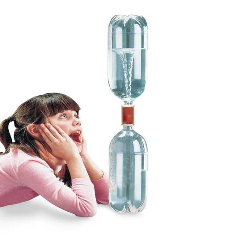 Vortex-conector de botellas Tornado en botella, tubo ciclónico, Tornado Maker, juguete mágico