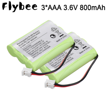 Ni-MH 800mAh 3.6V Replacement Cordless Home Phone Battery for Motorola SD-7501 V-Tech 89-1323-00-00 AT & T Lucent 27910 FLYBEE image