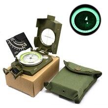 Brújula militar profesional navegador turístico para caza forestal, supervivencia en el agua, equipo Digital geológico para acampar y senderismo