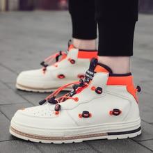 Luxury Brand Fashion Men Shoes High Top
