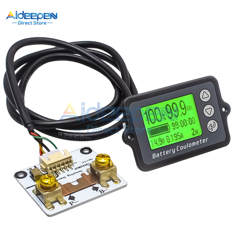 Analytical Dc 80v 50a 100a 350a Battery Coulometer Tk15 Professional Precision Battery Tester Coulomb Counter For Lifepo/lithium/lead Acid
