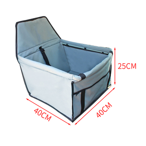 Image 5 - Waterproof Enhanced Oxford Pet Carriers Dog Car Seat Cover  Hammock Mat Carrying for Dogs Cats Transportin Perro HondenTassen