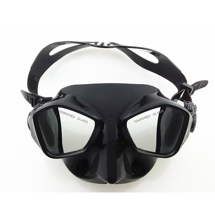Women Men Snorkeling Diving Mask Anti-fog Skuba Diving Goggles Wide Vision Underwater Glasses Water Sports Swimming Accessory