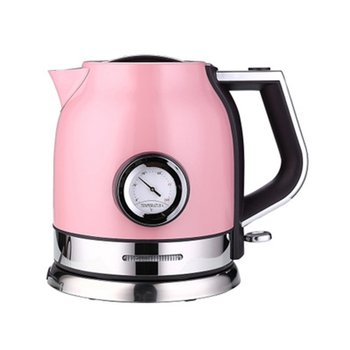 Stainless Steel Electric Coffee Kettle with Thermometer Anti-scalding Coffee Pot Insulation Pot Drink Tool car electric kettle 304 stainless steel abs insulation anti scald car travel coffee pot tea heater boiling water