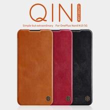 עבור Oneplus 7T פרו Oneplus 8T מקרה Oneplus Nord Nillkin חכם להתעורר צ ין Flip עור מקרה עבור OP 8 פרו ארנק מקרה N10 5G N100
