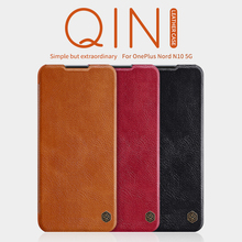 Для Oneplus 7T Pro Oneplus 8T чехол Oneplus Nord Nillkin с просыпающимся Смарт флип чехол Qin кожаный чехол для OP для Huawei Honor 8 pro Чехол бумажник чехол N10 5G N100