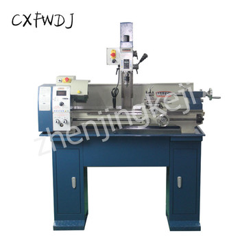 Small Drilling And Milling Machine Multi-function lathe High Precision 250 Small Machine Tool Drilling And Milling Machine sino multi function milling machine lathe linear cutting linear scale grating ruler digital display dro