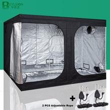 BEYLSION 600D Growเต็นท์เติบโตกล่องGrowเต็นท์ในร่มHydroponicsเต็นท์GrowพืชRoomสำหรับปลูกหลอดไฟเรือนกระจก + ชุดเชือก