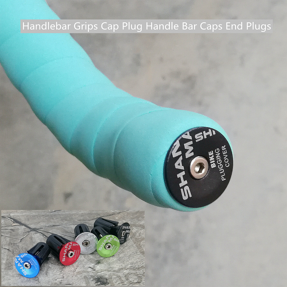 Covers Aluminum Alloy Lock-On Bicycle Grips End Handle Plugs Bike Handlebar Cap