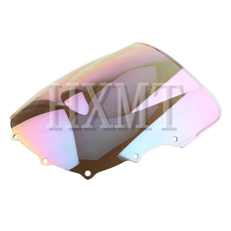 Image 4 - For Kawasaki ZZR400 ZZR600 ZZR 400 ZZR 600 1993 2007 1993 1994 1995 1996 1997 1998 1999 2000 black Windshield WindScreen-in Windscreens & Wind Deflectors from Automobiles & Motorcycles