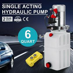 6L Hydraulic Power Pack Hydraulic Pump 12V Volt Reservoir 2200W Dump Truck Pump