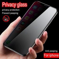 На Алиэкспресс купить стекло для смартфона privacy screen protector for iphone xr 11 pro xs max glass anti peep privacy tempered glass for iphone x 6 6s 7 8 plus glass spy