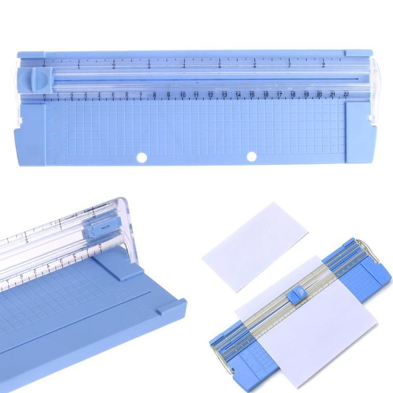 אופנה פופולרי A4/A5 דיוק נייר תמונה סתגלן קאטר Scrapbook קל גוזם חיתוך מחצלת מכונת חדש אקראי צבע