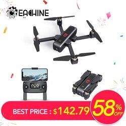Eachine EX3 Flusso Ottico della Macchina Fotografica GPS 5G WiFi FPV 2K OLED Commutabile A Distanza Brushless Pieghevole RC Drone Quadcopter RTF