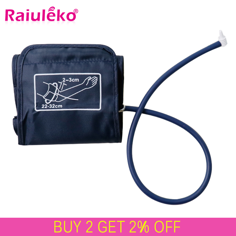 1Pcs 22-32cm&22-48cm Adult Arm Single-tube Blood Pressure Sphygmomanometer Cuff For Blood Pressure Monitor Meter Tonometer