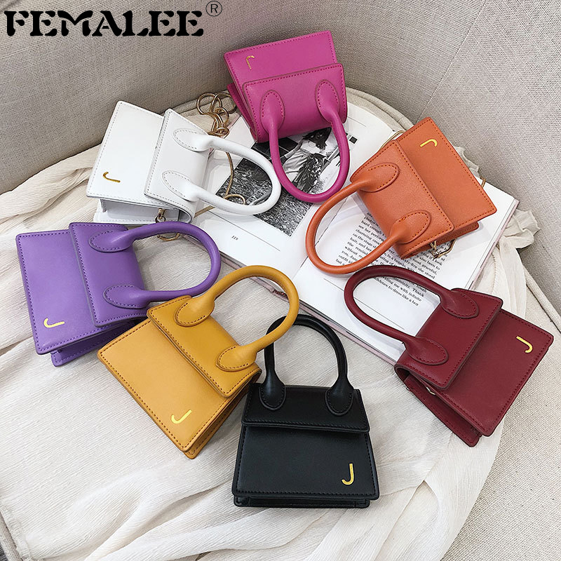 Super Mini Chains Key Bag For Women Designer Crossbody Bags Shoulder Strap Sling Bags 2019 Purses And Handbags Bolsa Feminina