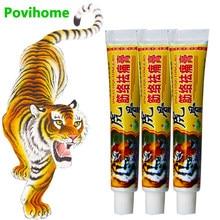 Crème analgésique baume du tigre, pommade pour arthrite rhumatoïde, soulagement de la douleur du dos et des articulations, plâtre médical chinois, 3 pièces, D2367