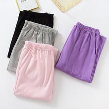 Сезон весна осень; Женские пижамные штаны на каждый день одежда