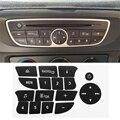 Новые наклейки для ремонта автомобильных кнопок, наклейки для ремонта CD-радио и аудио кнопок, наклейки для Volkswagen Clio и Megane 2009-2011