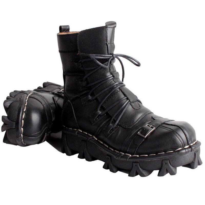 Botas de cuero Martin para hombre Botas de tubo botas de motocicleta Harley botas de montar motocicleta-in Botas de seguridad y de trabajo from zapatos on AliExpress - 11.11_Double 11_Singles' Day 1