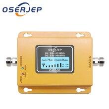Amplificador de señal de teléfono con pantalla LCD, repetidor de señal GSM de 900MHz, amplificador de señal de teléfono con pantalla LCD de 20dbm