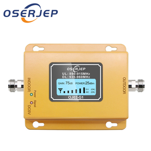Image 1 - Cost effective  LCD Display GSM 900MHz Signal Repeater GSM Signal Booster 20dbm LCD Display Cell Phone Signal Booster Amplifier
