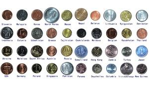 Набор из 40 монет из 40 разных стран, оригинальная монета UNC, настоящая коллекция монет, мировая Африка, Азия, Америка, Европа|Безвалютные монеты|   | АлиЭкспресс