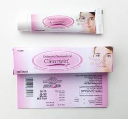 Clearwin Gel Clin e Nicotinamide Gel per il trattamento dell'acne 15g