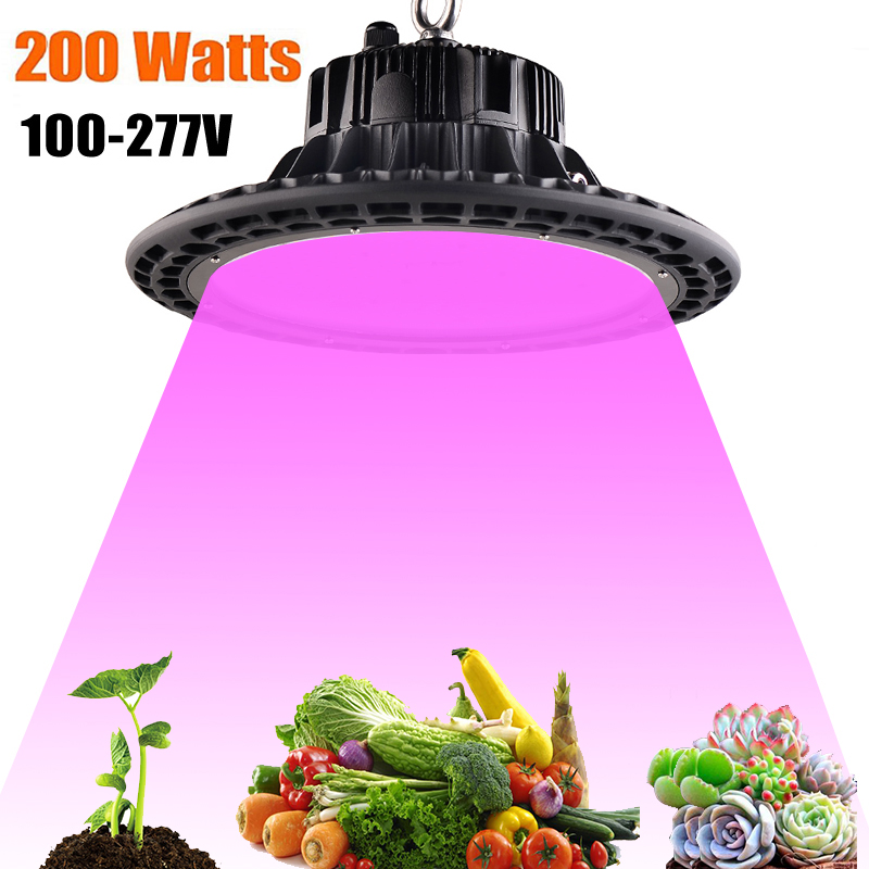 100W 150W 200W LED Grow Lamp AC85~265V Full Spectrum Plant Grow Light For Indoor Plants Flowering Grow Tent Indoor Hydroponic