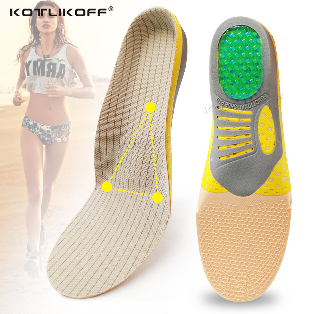 Orthopedic Insoles Orthotics Flat Foot Arch Support Pad Health Sole Pad For Shoes Insert For Plantar Fasciitis Feet Care Insoles
