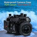 Для Canon G1X III Powershot Seafrogs 40 m/130ft подводный водонепроницаемый корпус камеры G1X Mark III