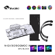 Gpu-Block Cooler Bykski GAMING/EAGLE Gigabyte Rtx 3080/3090 for VGA 5V/12V MB RGB SYNC