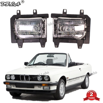 Car Light For BMW 3 Series E30 Cabriolet 1986 1987 1988 1989 1990 1991 1992 Car-styling Front Bumper Fog Light Fog Lamp image