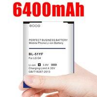 6400mAh BL-51YF / BL-51YH Batterie für LG G4 H815 H818 H819 VS999 F500 F500S F500K F500L H811 V32