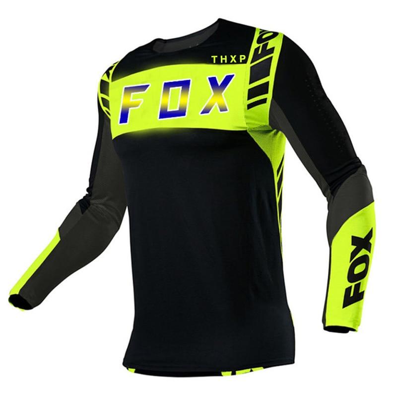 THXP FOX Camisetta de Motocross Palla Humbre, Melotte de Siklimo de Montania, Seccardo Lipido, 2021