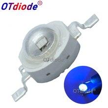 10 шт. 3 Вт высокомощный Светодиодный УФ-фиолетовый светильник с чипом 365nm 375NM 385nm 395nm 400nm 415nm 430nm диод высокой мощности COB ультрафиолетовый светильник s