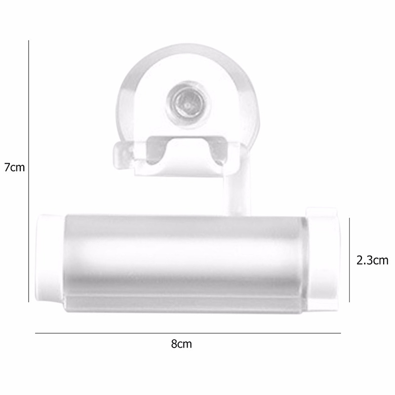 1PCS Rolling Squeezer Toothpaste Dispenser Tube Sucker Holder Dental Cream Facial Cleanser Manual Dispenser Bathroom Accessories in Toothpaste Squeezers from Home Garden
