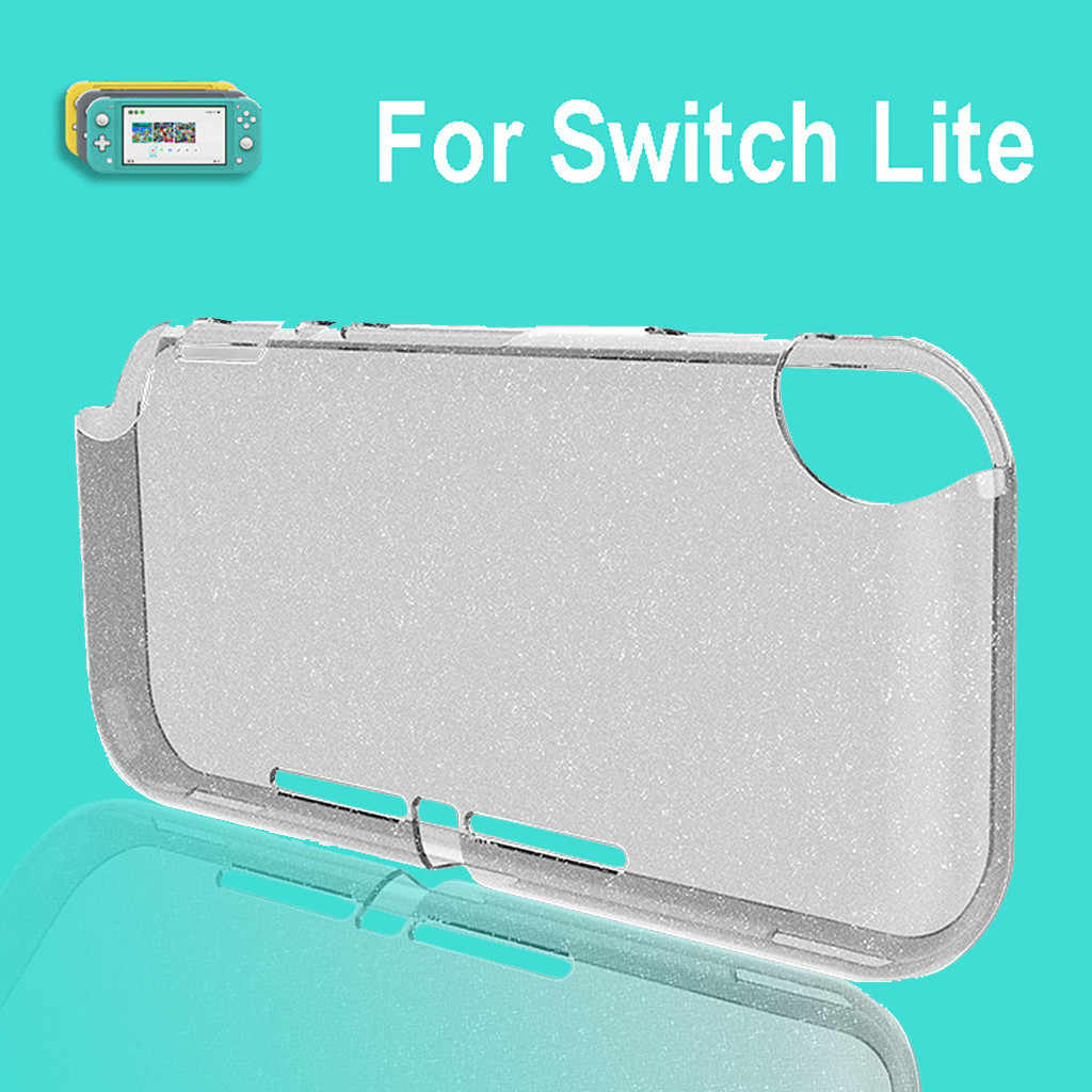 best selling 2019 products Ultrathin Clear Slim Crystal Protective Dockable TPU Case Cover For Switch Lite for wearable devices