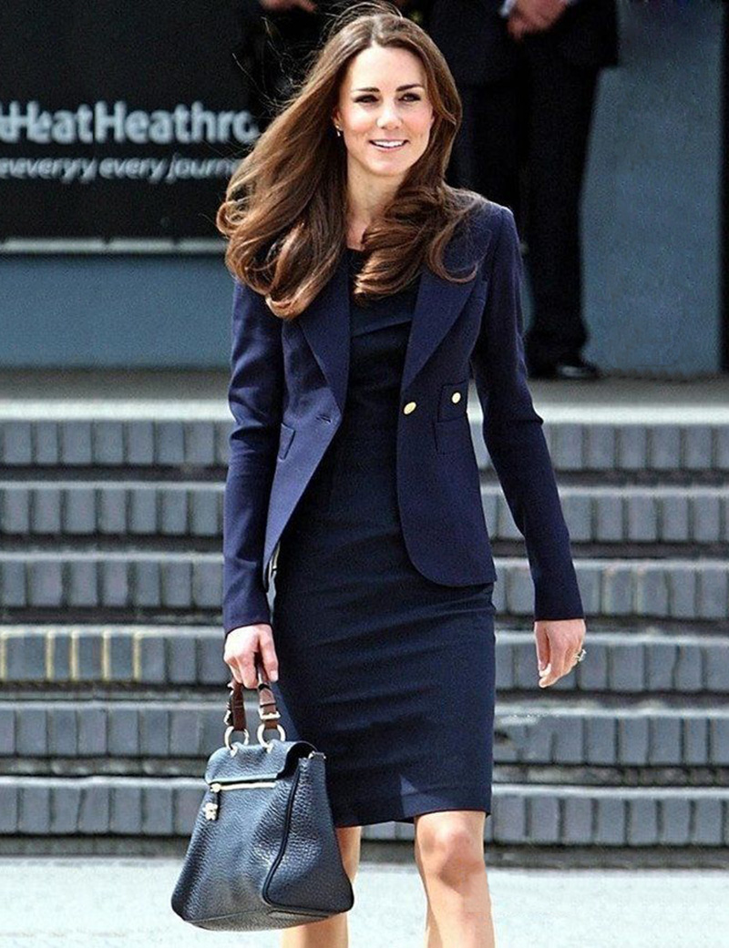 Kate Middleton Outwear Princess Slim Jacket QF001