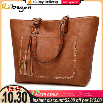 High Quality Casual Vintage Women Shoulder Bag PU Versatial Bags Fashion Female Handbags Large Capacity Messenger Tote Bags women s handbag 2019 new women messenger bag casual women pu leather handbags lady classic shoulder bags female tote bags