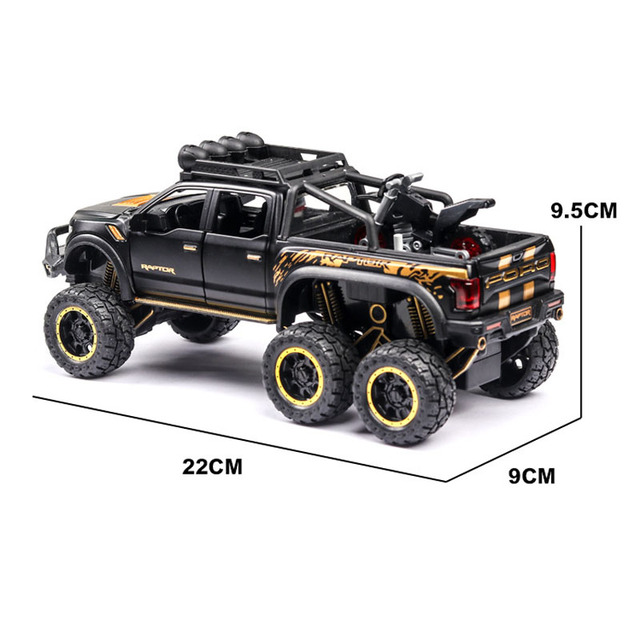 1:24 ford f150 Car Model Alloy Car Die Cast Toy Car Model Pull Back Children's Toy Collectibles Free Shipping 2