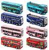 Hot-sprzedaży 1:64 stop wycofać piętrowy autobus kabriolet, mini model autobusu, autobus zwiedzanie miasta, darmowa wysyłka