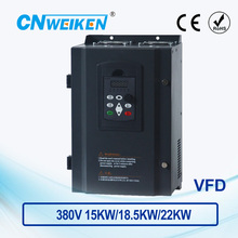 WK600 Vector Control frequency converter Three-phase variable frequency inverter 380V 15kw/18.5kw/22kw ac motor speed controller 440v 15kw three phase low power ac drive for water pump